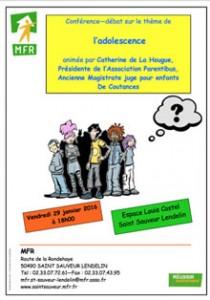 Affiche conférence débat C de la Hougue mini