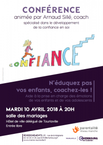 Affiche conference confiance en soi PDF HD IMPRESSION